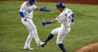 Cody Bellinger, Max Muncy, 2020 World Series