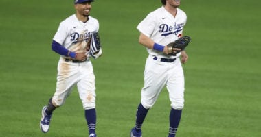 Cody Bellinger, Mookie Betts, Dodgers win, 2020 NLDS