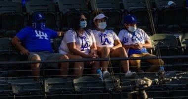 Dodgers fans, 2020 NLCS