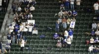 Dodgers fans, 2020 World Series
