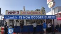 Pinks Hot Dogs, 2020 World Series