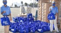 2020 Los Angeles Dodgers turkey giveaway