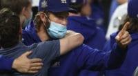 Clayton Kershaw, Dodgers win, 2020 World Series