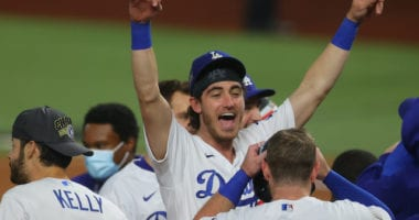 Cody Bellinger, Max Muncy, Dodgers win, 2020 World Series