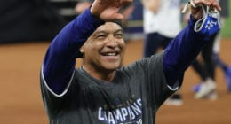 Dave Roberts, Dodgers win, 2020 World Series