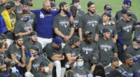 Dodgers team photo, 2020 World Series