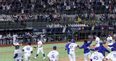 Dodgers win, 2020 World Series