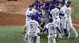 Dodgers win, 2020 World Series