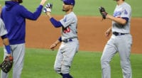 Mookie Betts, Clayton Kershaw, Corey Seager, Dodgers win, 2020 World Series