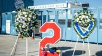 Tommy Lasorda number, Dodger Stadium top deck, Retired Numbers Plaza