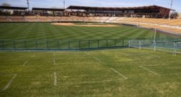 Camelback Ranch view, lawn seats, 2021 Spring Training