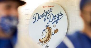 Dodger Dog sign