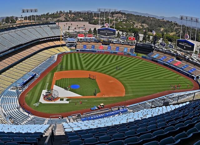 Dodger Stadium view