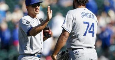 Kenley Jansen, Corey Seager, Dodgers win