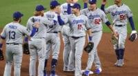 Mookie Betts, Max Muncy, AJ Pollock, Luke Raley, Chris Taylor, Justin Turner, Dodgers win