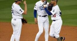 Mookie Betts, Gavin Lux, Sheldon Neuse, Dodgers win