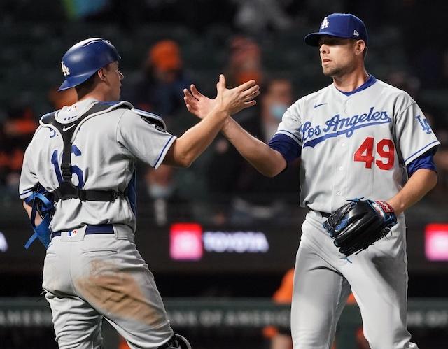 Will Smith, Blake Treinen, Dodgers win