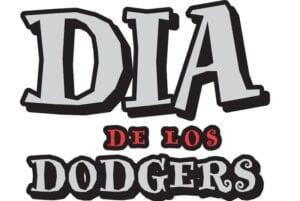 Dia de Los Dodgers logo