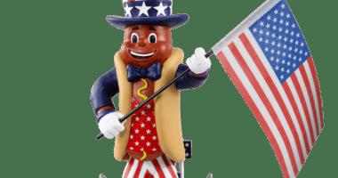 Dodger Dog bobblehead, FOCO