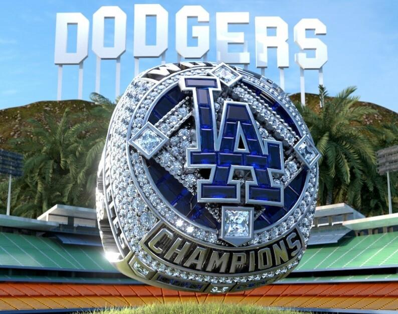 Dodgers 2020 World Series ring NFT