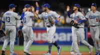 Cody Bellinger, Max Muncy, Corey Seager, Chris Taylor, Justin Turner, Dodgers win