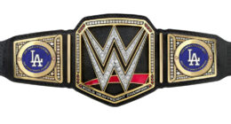 Dodgers WWE belt