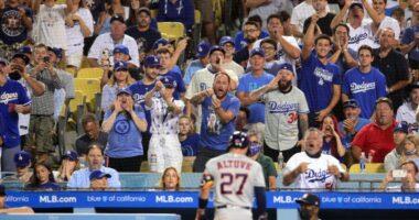 Jose Altuve, Dodgers fans