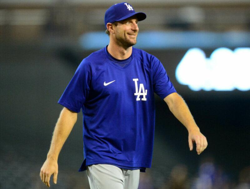 Max Scherzer, Dodgers win