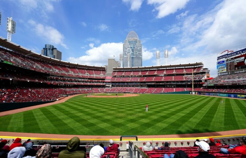 Great American Ball Park view