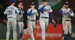 Cody Bellinger, Mookie Betts, Corey Seager, Justin Turner, Trea Turner, Dodgers win, 2021 NLDS